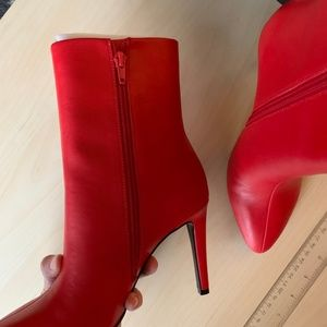 Nine West Shoes - Nine West Red Sy 7Yagel Pointy Toe Boots